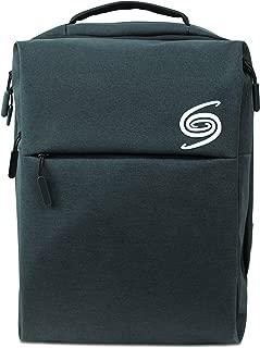 Modern Style Black Laptop Backpack Business Travel USB Charging Water Resistant Materials - Grand Sierra Designs