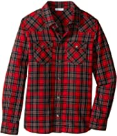 Dolce & Gabbana Kids - Check Tartan Button Down (Big Kids)