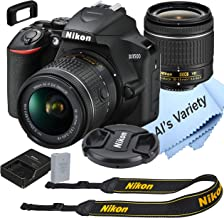 Nikon D3500 DSLR Camera Kit with 18-55mm VR Lens   Built-in Wi-Fi   24.2 MP CMOS Sensor   EXPEED 4 Image Processor and Ful...