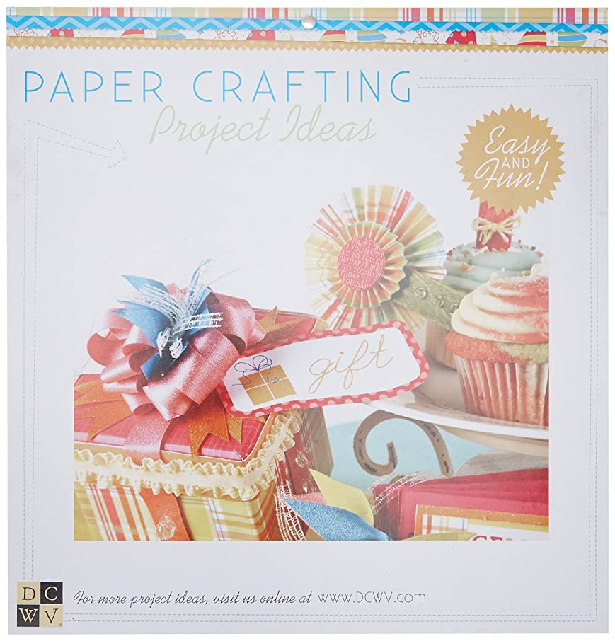 Die Cuts With A View 48-Sheet Premium Stack, 12-inches by 12-inches, Birthday Wishes