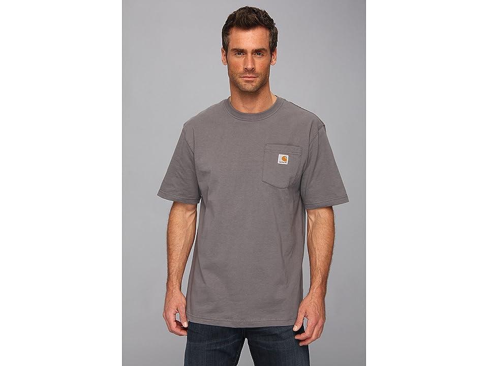 Carhartt Workwear Pocket S/S Tee K87 (Charcoal) Men's T Shirt