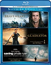 The Sapphire Collection: (Braveheart/Gladiator/Saving Private Ryan)