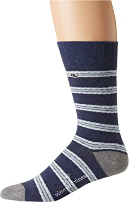 Vineyard Vines - Chappy Stripe Socks