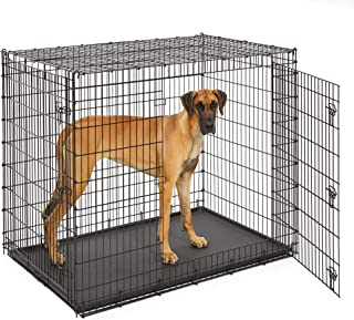 MidWest Homes for Pets XXL Giant Dog Crate | 54-Inch Long Ginormous Double Door Dog Crate Ideal for a Great Dane, Mastiff,...