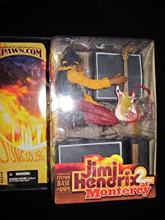 Spawn Jimi Hendrix Monterey Pop Festival Action Figure with Guitar and Amps by Mcfarlane