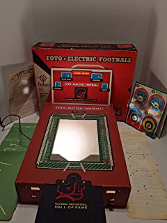 Vintage 1965 Foto Electronic Football - National Pro Football Hall of Fame Game No. 233