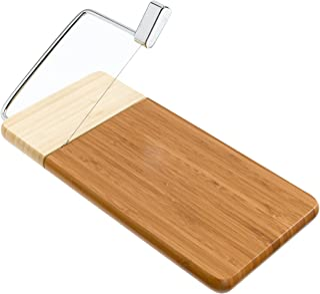 "Prodyne Bamboo Cheese Slicer, 12"" x 6"""