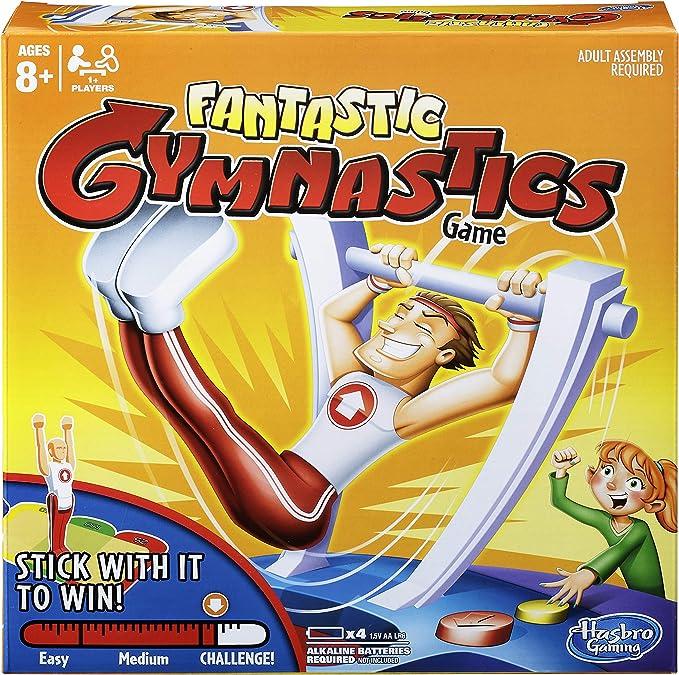 Hasbro Juego de Mesa Fantastic Gymnastics C0376