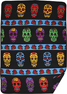 El Paso Designs Native American Southwest Warm Smooth Cozy Lodge Blanket for Cabin, Home, Cottage or Chalet 80