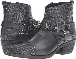 Black Exotic Leather