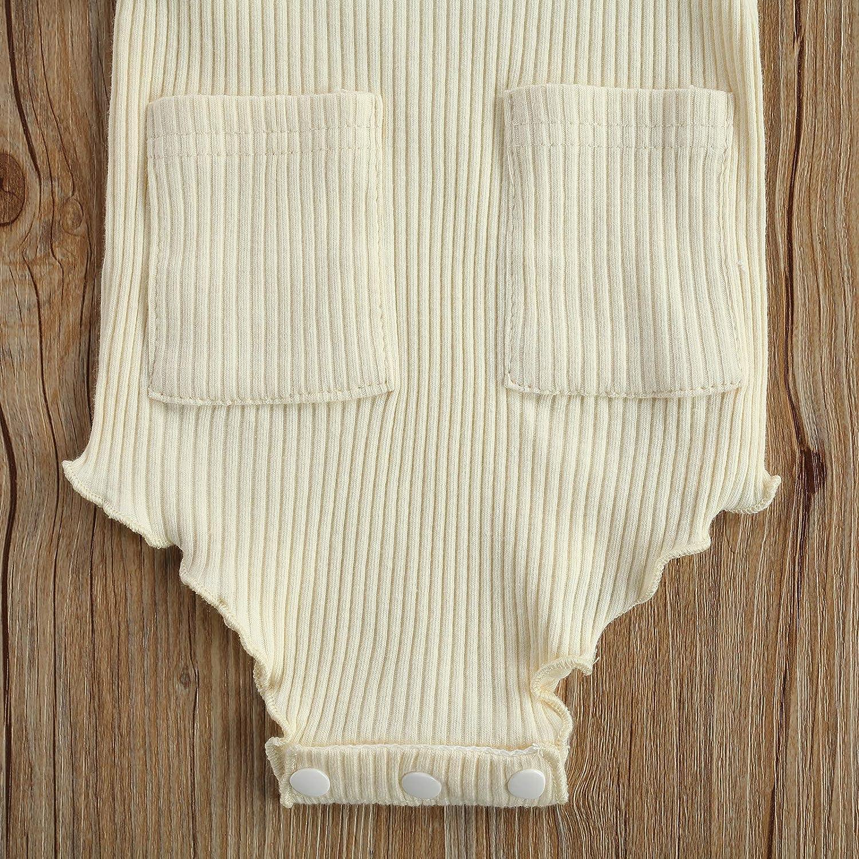 diademas verano y oto/ño body de pelele con bolsillo de manga corta con encaje 3 piezas L/&ieserram Vestidos para ni/ña de color liso pantalones cortos para primavera