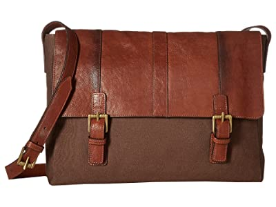 Scully Santa Fe Messenger Bag (Tan) Bags