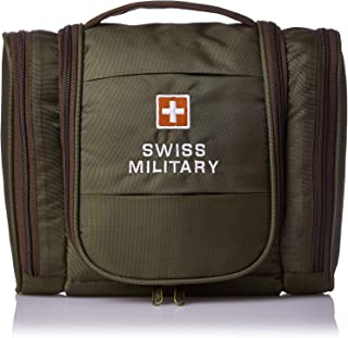 Swiss Military TB2 Toilet Bag for Unisex - Polyester, Green