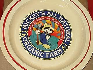 Disney Mickey & Co. Homegrown Platter -- Treasure Craft -- Pfaltzgraft -- 13