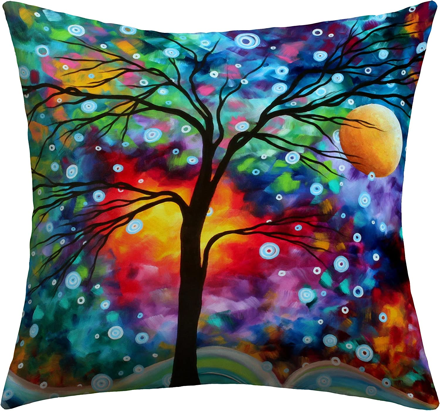 Deny Designs Madart Inc. A Moment In Time Outdoor Throw Pillow, 26 x 26