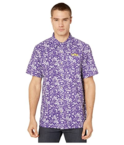 Columbia College LSU Tigers CLG Super Slack Tidetm Shirt (Vivid Purple) Men
