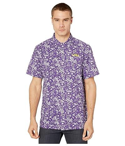 Columbia College LSU Tigers CLG Super Slack Tide Shirt (Vivid Purple) Men