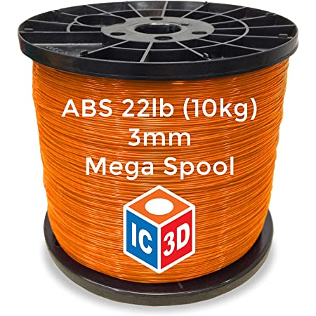 10KG ABS Filament 1.75mm ABS 3D Printer Filament Dimensional Accuracy +//- 0.02mm ABS 3D Printing 1KG Spool