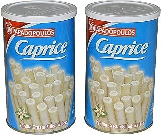 Papadopoulos Caprice Wafer Rolls (Vanilla)