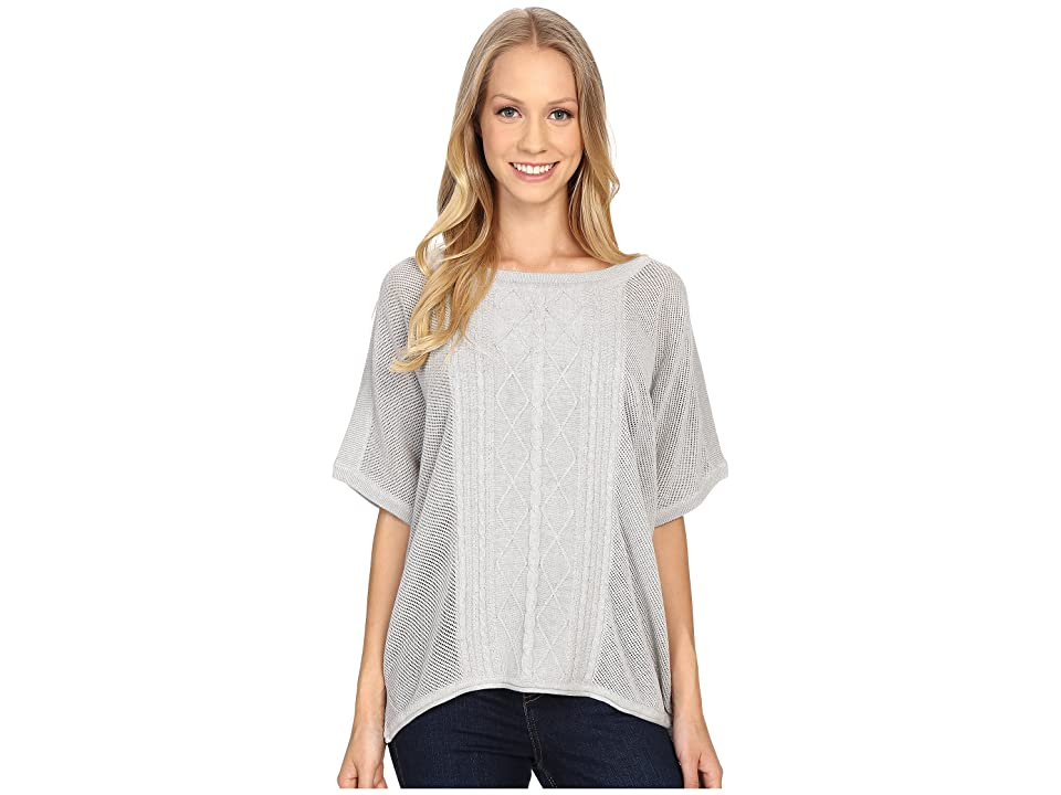 Prana Nadine Sweater (Silver) Women