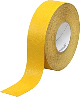 3M Safety-Walk Slip-Resistant General Purpose Tapes and Treads 630-B, Safety Yellow, 2