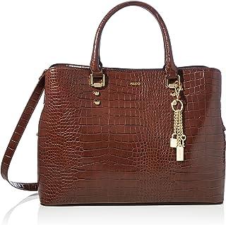ALDO Women's SIGOSSA Laptop Bag, Chocolate Brown, One Size 27.535.510.5