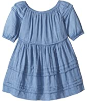 Polo Ralph Lauren Kids - Gauze Chambray Dress (Little Kids)
