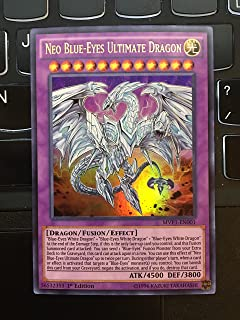 Yu-Gi-Oh - Neo Blue-Eyes Ultimate Dragon (MVP1-EN001) - The Dark Side of Dimensions Movie Pack - 1st Edition - Ultra Rare