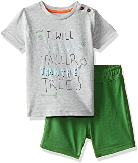 Mothercare Baby Boys' Regular Fit Cotton Clothing Set