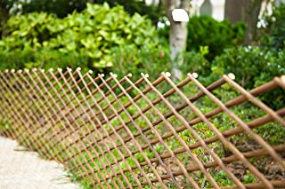 Fashion Garden Willow Expandable Fence 35x78 INCH (1) (Wood)