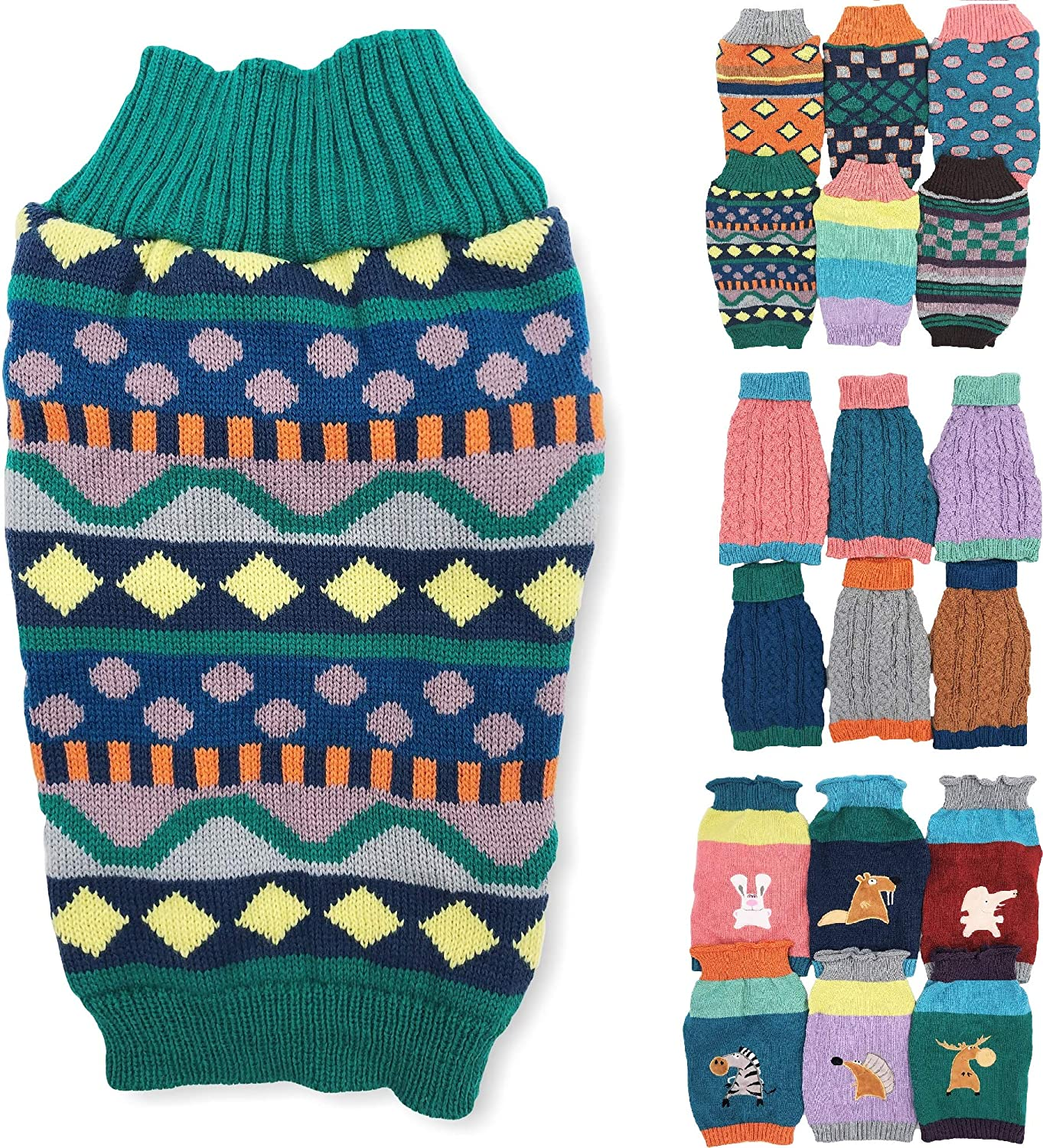 Dog Sales Sweater Knitted Fashion Warm Soft Winter Small L Over item handling for Clothes