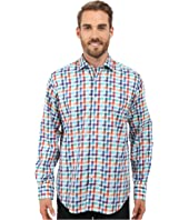 BUGATCHI - Florence Classic Fit Long Sleeve Woven Shirt