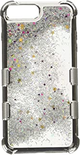 MyBat Cell Phone Case for iPhone 6s Plus, 6 Plus, 8 Plus, 7 Plus - Silver/Silver Sparkles