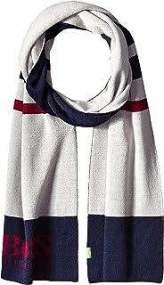 BOSS Green Men's Cincy Knit Scarf with Logo