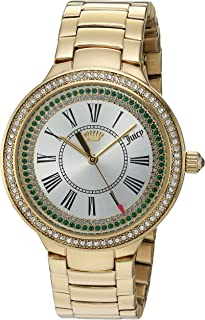 Juicy Couture Women's 'Catalina' Quartz Tone and Gold Plated Casual Watch(Model: 1901551)