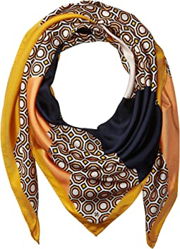 Octagon Silk Square Scarf