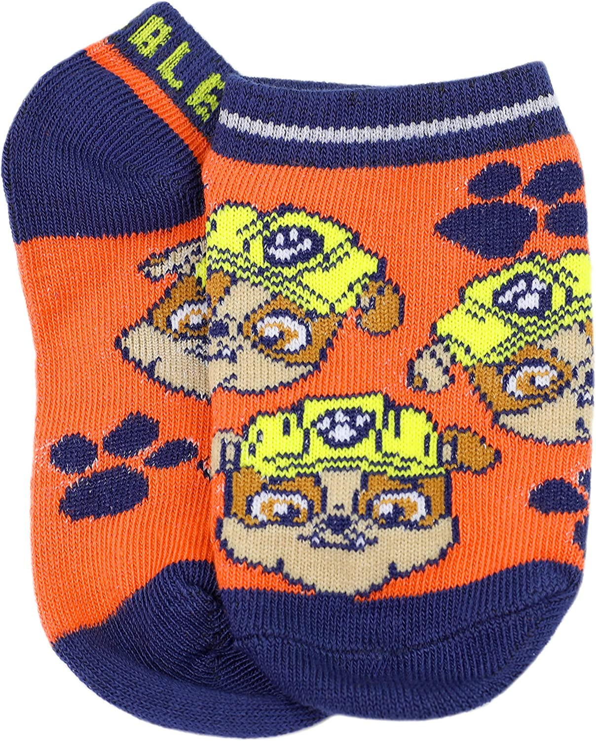 Nickelodeon Little Boy's PAW Patrol 5 Pack Character No Show Socks