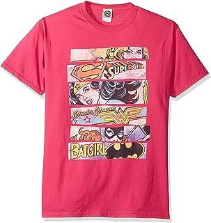 DC Comics Men's Dc Characters Original Universe T-Shirt