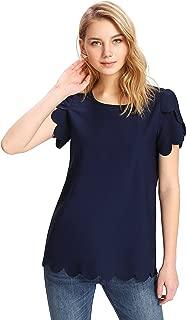 navy dress blue top