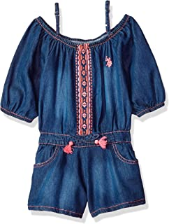 4825aaa5f5c3 Amazon.com  Big Girls (7-16) - Jumpsuits   Rompers   Clothing ...