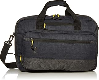 Velocity 15.6 Inch Laptop Hybrid Backpack Briefcase, Navy/Grey