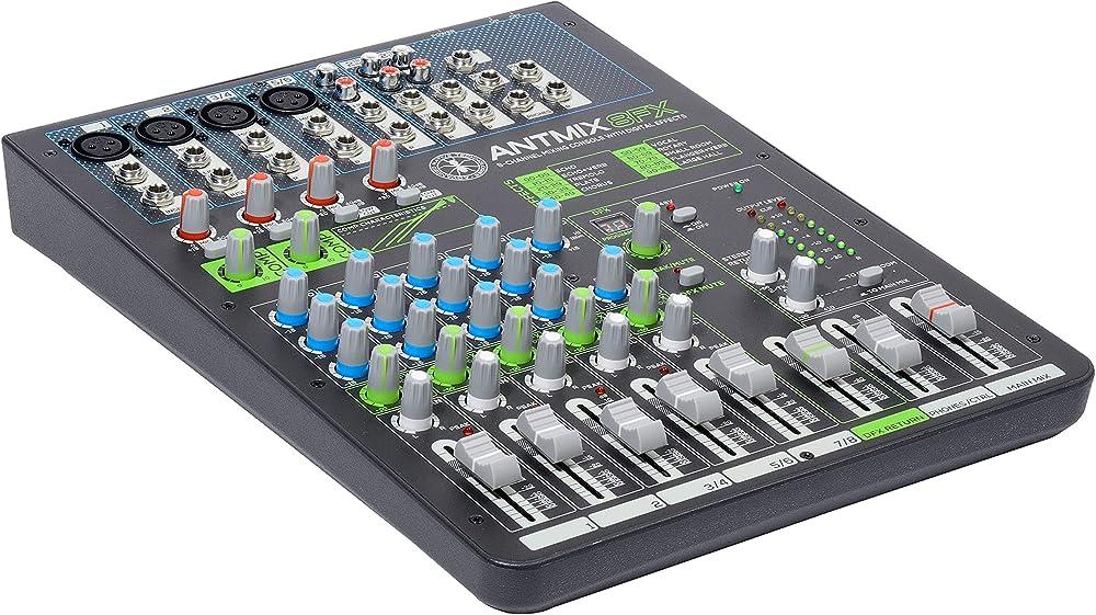 Advance native technology mixer professionale a 8 canali con effetti digitali ANTMIX8FX