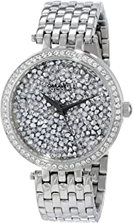 Caravelle New York Women's 43L160 Swarovski Crystal Pave Watch