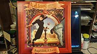 """KD LANG & the Reclines signed""""Angel With A Lariat"""" album flat 1987 / UACC Registered Dealer # 212"""