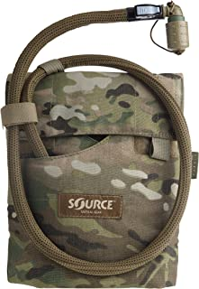 Source Tactical Kangaroo 1-Liter Collapsible Canteen Hydration System with Pouch