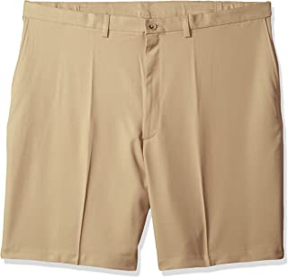 Haggar Men's Big and Tall Cool 18 Pro Classic Fit Stretch Flat Front Short