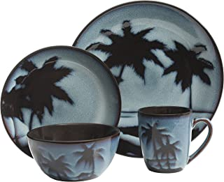 Gibson Overseas, Inc. 99815.16R Sunset Blue Dinnerware Set