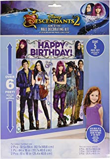 Disney Descendants 2 Scene Setters Wall Decorating Kit
