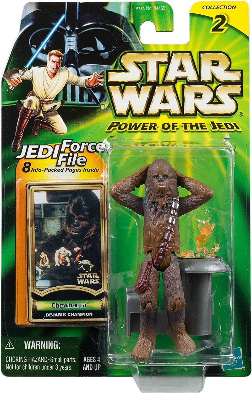 Star Wars Chewbacca dejarik champion Power of the Jedi collection 2