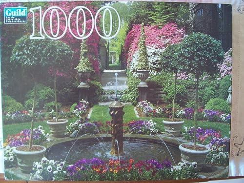 a la venta Guild 1000 Piece Jigsaw Puzzle Fountain And Garden Garden Garden In Bloom by Guild  Venta al por mayor barato y de alta calidad.